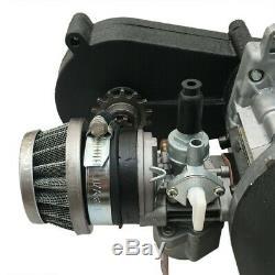 47CC 49CC 2 Stroke Engine Motor Fr Gas Scooter Mini Chopper Dirt Pocket Bike ATV