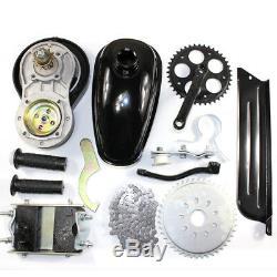 49CC 26 Gas Petrol DIY Motorized Bike Engine Motor Kit+4-Stroke BELT Gear Box