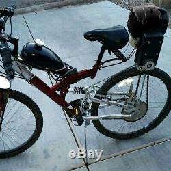 49CC 4-Stroke GAS PETROL MOTORIZED BIKE BICYCLE ENGINE MOTOR KIT Scooter DIY US