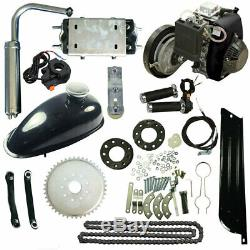 49CC 4-Stroke Gas Petrol Motorized Bicycle Bike Engine Motor DIY Kit Scooter USA