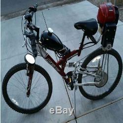 49CC 4-Stroke Gas Petrol Motorized Bike Bicycle DIY Engine Motor Kit Scooter US