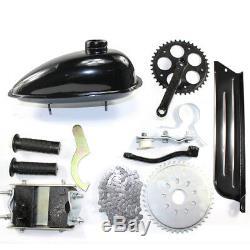 49CC 4-Stroke Gas Petrol Motorized Bike DIY Engine Motor Kit Scooter+Belt Gear
