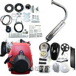 49CC 4 Stroke Gas Petrol Motorized Bike Engine Kit DIY Scooter Bicycle Motor Set