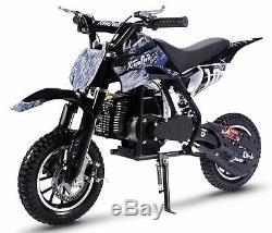 49cc 2-Stroke Engine Gas Motor Mini Scooter Pocket Bike (Pixel Dirt)