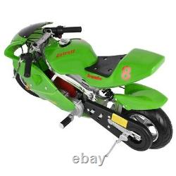 49cc 4-Stroke Engine Gas Power Pocket Bike Motorcycle For Kids And Teens US