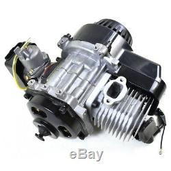49cc 50cc 2 Stroke Motor Engine Kit Gas for Motorized Bicycle Bike Scooter Blk