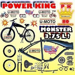 49cc/66cc/80cc DIY 2-STROKE MOTORIZED BIKE GAS TANK FRAME KIT FOR BICYCLE ENGINE