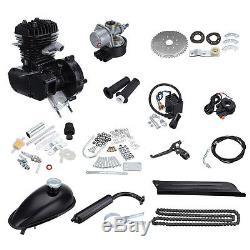 50CC 2-Stroke Motor Kits for 26 28 Bike Motorized Bicycle Black Gas Engine