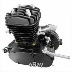 50cc 2-Stroke Bike Bicycle Petrol Engine Motor Kit Cycle Gas Motorized Black