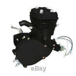 50cc 2 Stroke Cycle Motor Kit Motorized Bike Petrol Gas Bicycle Engine Black