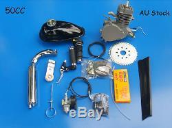50cc 2 Stroke Full Set Bicycle Motorized Cycle Push Bike Gas Engine Motor Kit
