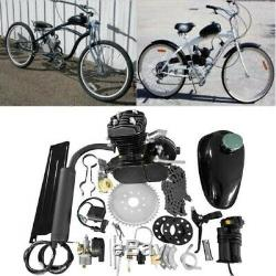 50cc 2-Stroke Gas Motorized Bicycle Kit Bike Petrol Engine Motor Air-cooling