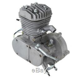 50cc 2 Stroke Motor Engine Kit Gas for Motorized Bicycle Bike Sliver Upgraded