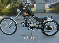 50cc Bike 2 Stroke Gas Engine Motor Kit Motorized Bicycle Bike Full Set