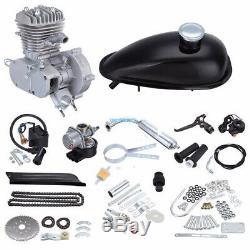 50cc engine 2 Stroke Motor Kit Petrol Gas Motorized Bicycle Bike Upgraded