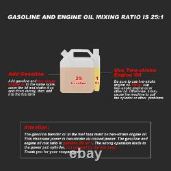 52CC 2.7HP Gas 20 Bar Chainsaw Gasoline Engine Cutting Powered 2-Stroke NEW