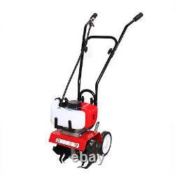 52CC 2stroke Gas Engine Garden Tiller Rototiller Cultivator 6500-700r/min