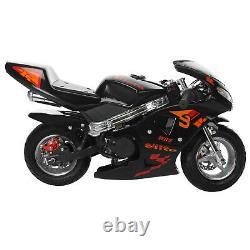 55 km/h Mini Gas Power Pocket Bike 49cc 2-Stroke Engine Motorcycle