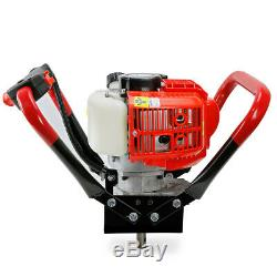 55CC V-Type 2-Stroke Gas Post Hole Digger One Man Auger Digger Engine Head EPA