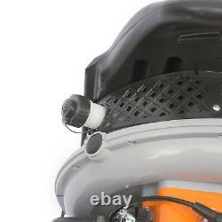 65cc Gas Powered Backpack Gasoline Leaf Blower Grass Sweeper 2 Stroke Engine NEW