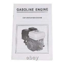 7HP 212CC 4 Stroke Gas Powered Go Kart Log Splitter Water Pump Engine Motor