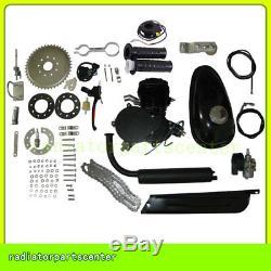 80CC 2-STROKE CYCLE GAS MOTORIZED BICYCLE KIT BIKE PETROL ENGINE Motor
