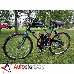 80CC 2 Stroke Motorised Bicycle Motorized Push Bike Petrol Gas Motor Engine Kit