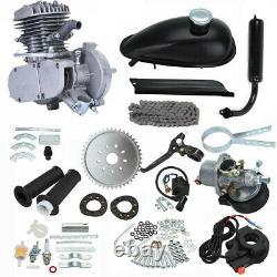 80CC 2-Stroke Petrol Gas Motor Bicycle Engine Motor Kit For Motorized Bike DIY