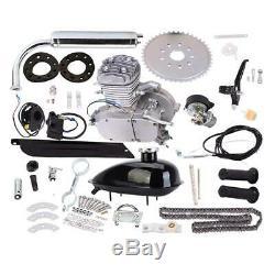 80CC 2-Stroke Petrol Gas Motor Bicycle Engine Motor Kit For Motorized Bike NEW
