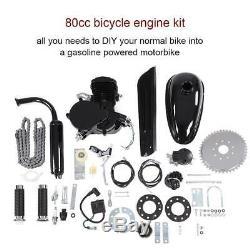 80CC Bicycle Engine Kit 2 Stroke Gas Motorized Bike Motor DIY Set with Tools Hot