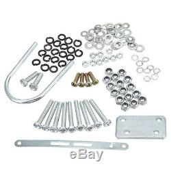 80cc 2-Stroke Bicycle Bike Cycle Motorized Gas Engine Motor Complete Kit Silver
