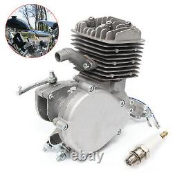 80cc 2 Stroke Bike Bicycle Motorized Petrol Gas Motor Engine Kit Set 1.65kw