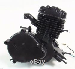 80cc 2 Stroke Black Bike Bicycle Engine Kit Gas Motorized Bike Motor
