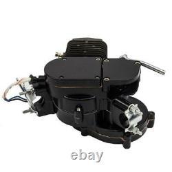 80cc 2-Stroke Cycle Bike Engine Motor Petrol Gas Kit for Motorized Bicycle Black