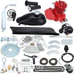 80cc 2 Stroke Cycle Motor Kit Motorized Bike Petrol Gas Bicycle Engine Kit