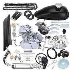 80cc 2 Stroke Engine Motor Kit Motorized Bicycle Bike Scooter 2L Fuel Gas new
