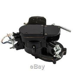 80cc 2-Stroke Engine Motor Kit fits Motorized Bicycle Bike Gas Powered Black US