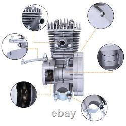 80cc 2-Stroke Engine Motor Kit for Motorized Bicycle Bike Petrol Gas Powered NEW