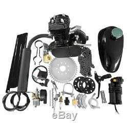 80cc 2 Stroke Gas Engine Kit Bicycle Kit Fit for Most Type 24, 26, 28 Bikes