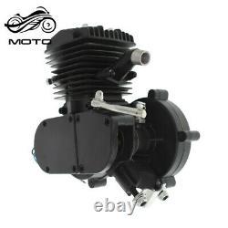 80cc 2 Stroke Motorized Motorised Bicycle Bike Cycle Gas Engine Motor Black