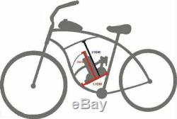 80cc 2Stroke Bicycle Bike Petrol Gas Engine Motor Kit Motorized Cycling Full Set
