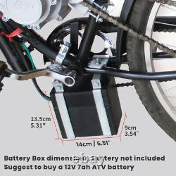 80cc Bicycle Bike Motor Motorized 2-Stroke Petrol Gas Electric Start Engine US