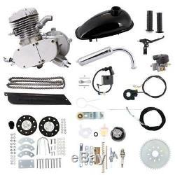 80cc Bicycle Motorized 2Stroke CDI Ignition Petrol Gas Motor Engine Kit US Stock