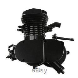 80cc Bike 2 Stroke Gas Engine Motor Kit Motorized Bicycle Black