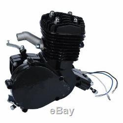 80cc Bike Bicycle Motorized 2 Stroke Petrol Gas Motor Engine Kit Set Black USD