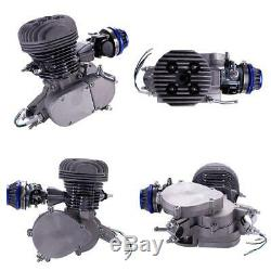 80cc Bike Bicycle Motorized 2 Stroke Petrol Gas Motor Engine Upgrade Kit