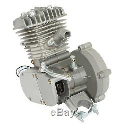 80cc Bike Cycling Motorized Bicycle Engine Motor Kit Muffler Petrol Gas 2-Stroke