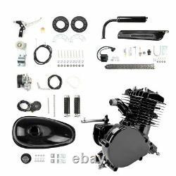 80cc Full Set 2-stroke Bike Bicycle Motorized Motor gas Engine Kit Black