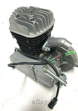 80cc G5 REPLACEMENT ENGINE for 2-stroke gas motor bike STRAIGHT HEAD STEEL BORE