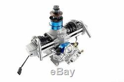 ASP FS-160 Twin Cylinder 4 Stroke Engine Full Gas Conversion Combo